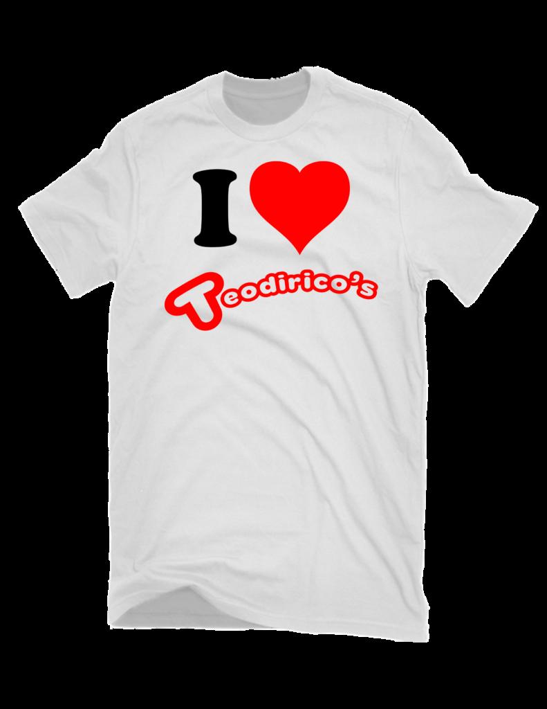 I Heart Teodirico's FREE T-Shirts